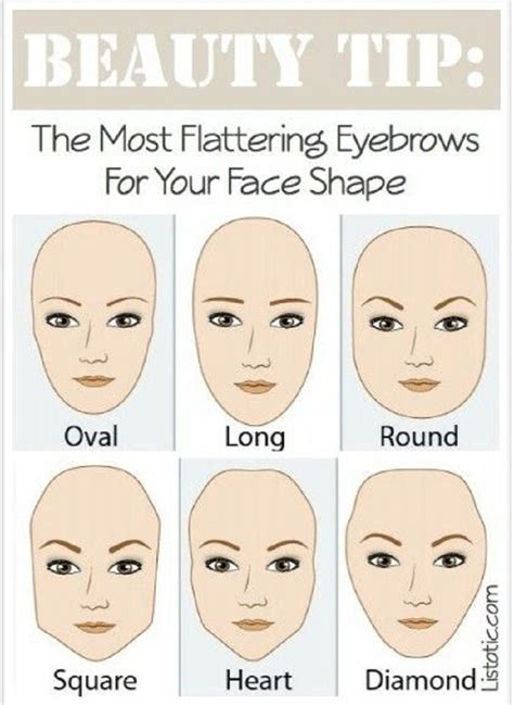 types of faces shapes different kinds of makeup tips for different face shapes