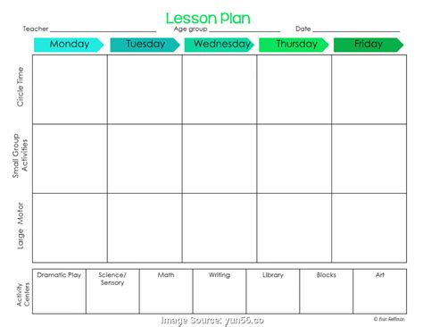 block schedule lesson plan template free simple preschool lesson plans templates block schedule