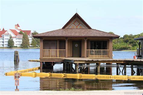 disney bungalows polynesian resort dvc villas construction photo 5 of 7