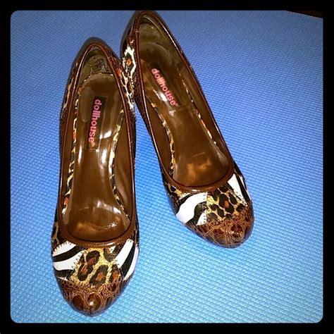 multi pattern heels dollhouse dollhouse multi pattern heels pumps sz 7 from