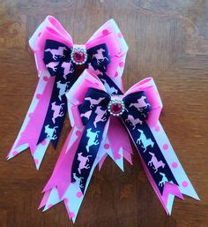 how to make a horse show bow horse show hair bows leadline short stirrup blue pink