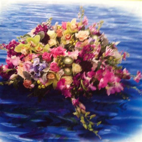 floating floral arrangement wedding pinterest
