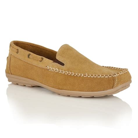 suede slip on loafers lotus s colby suede slip on loafers lotus from
