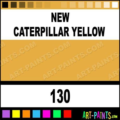 caterpillar yellow industrial colorworks enamel paints   caterpillar yellow paint