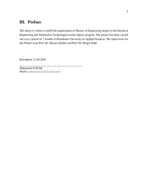 Thesis Report Muhammet Colak