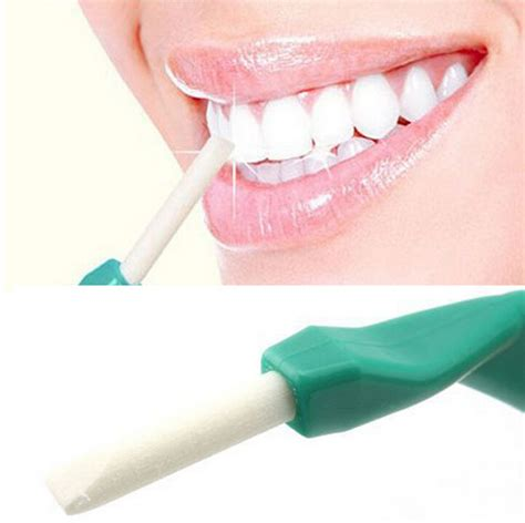 Hyper Dental Peeling Stick Isi 25 Pcs 1 Karet Dudukan 2 eraser teeth whitening hyper dental peeling stick penghapus pemutih gigi green