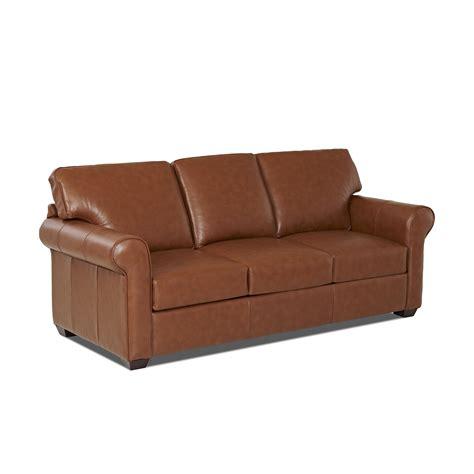 wayfair custom upholstery rachel leather sleeper sofa reviews wayfair
