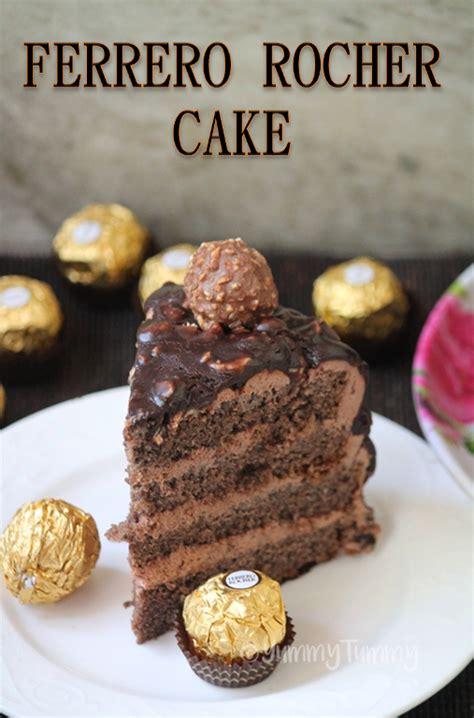 chocolate cake ferrero rocher ferrero rocher cake recipe chocolate hazelnut cake recipe