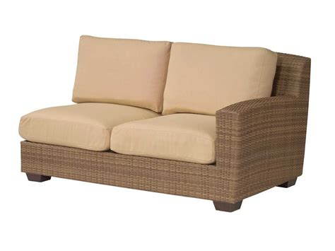 replacement cushions for sectional whitecraft saddleback rafacing loveseat sectional