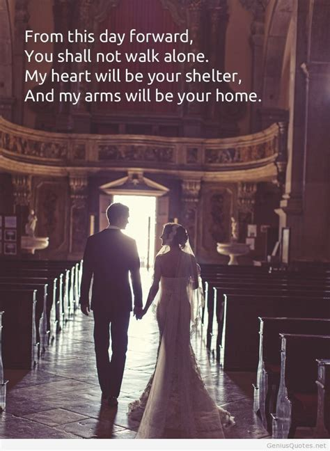 Inspirational Quotes For Wedding Couple. QuotesGram