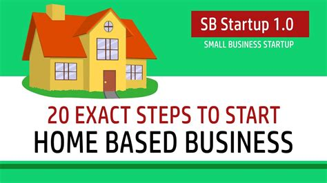 how to start a home based business youtube 20 exact steps to start home based business sb starup 1