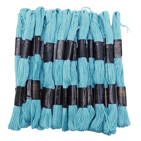 embroidery on knitted items 25 pcs pack stitch embroidery cotton sewing skeins thread