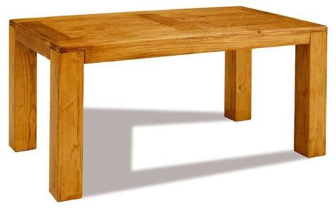 mesa de comedor rectangular fija modelo tambo mueble