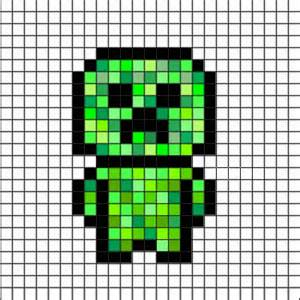 Pixel art minecraft and creepers on pinterest