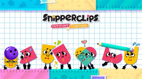 Nintendo Switch Switch Snipperclips Plus Cut It Out Together Us snipperclips plus cut it out together details launchbox database