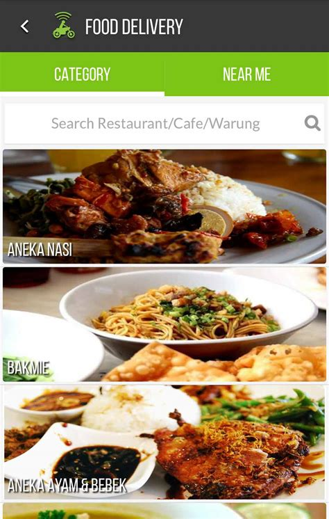 Delivery By Gojek get food delivery let s go food it by gojek tripper