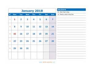 Kalender Vip 2018 Printable 2018 Calendar