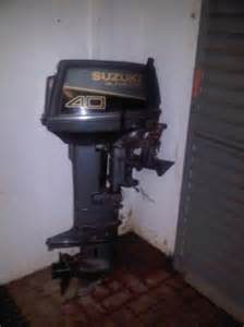 30 Hp Suzuki Outboard Suzuki 40hp Outboard Motor West Rand Boats Junk Mail