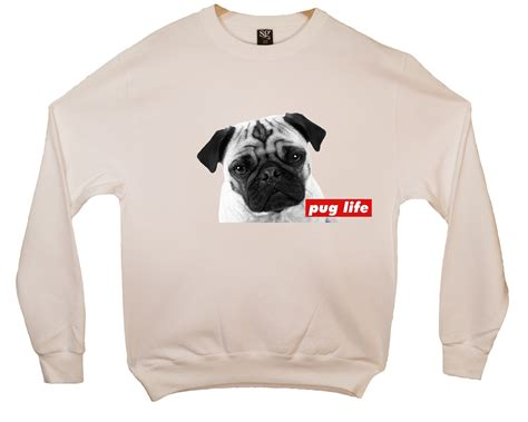 pug apparel pug sweatshirt