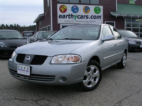 sentra nissan 2004 earthy cars earthy car of the week 2004 nissan