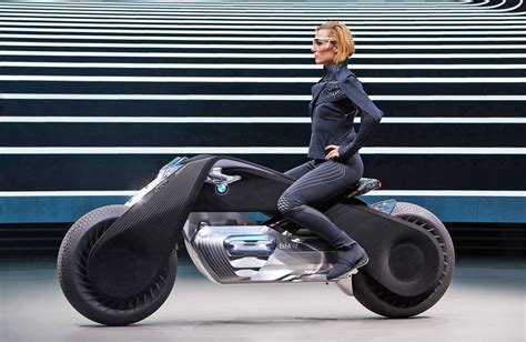 Concept Bike Bmw S Motorcycle Of The Future Doesn T Require A Helmet