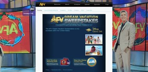 International Vacation Sweepstakes - afv dream vacation sweepstakes