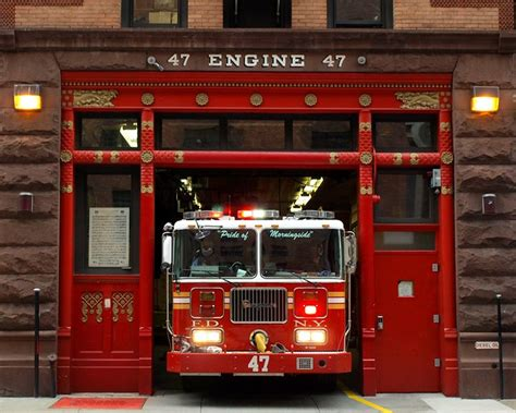 fdny firehouse engine  morningside heights  york city flickr photo sharing