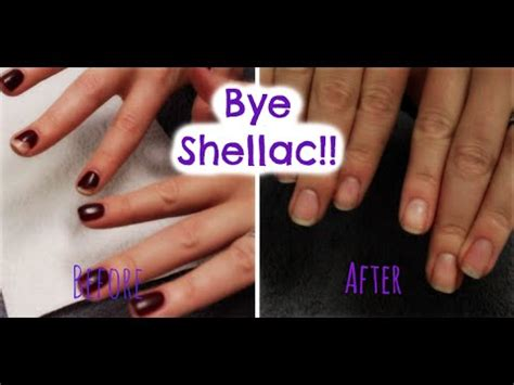how to remove shellac at home