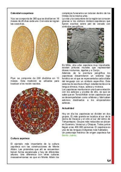 Calendario Zapoteca 3 Calendario Zapoteca Yza
