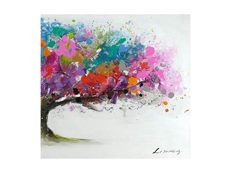 imagenes originales para pintar al oleo cuadro al 243 leo de paisaje de colores cuadros decorativos