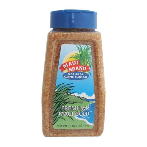 Maui Brand Natural Hawaiian Cane Turbinado Sugar from