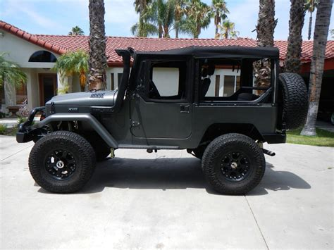 icon fj40 4 door awesomly restored 1965 toyota land cruiser cars for