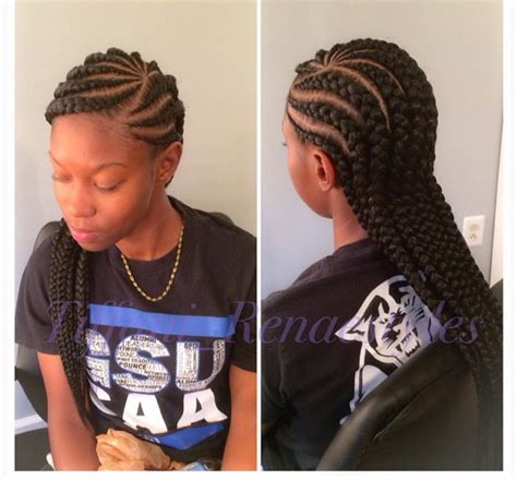 jumbo cornrow hairstyles jumbo cornrows braids twists pinterest cornrows