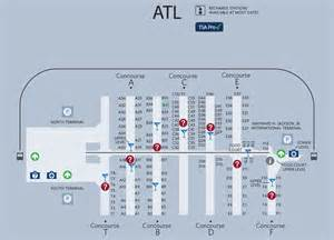 ambitious and combative atlanta airport map