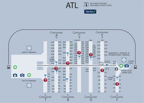 atl terminal map ambitious and combative atlanta airport map