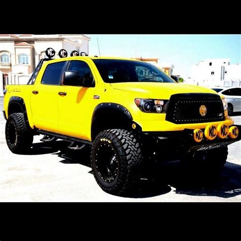 yellow toyota truck 221 best images about nice trucks on pinterest chevy