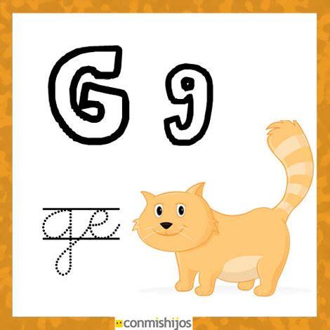 imagenes en ingles con la letra g fichas para aprender las letras y colorear letra g