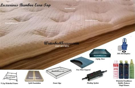 are waterbeds comfortable king size 76 quot x 80 quot softside waterbed with luxurious