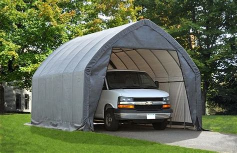 Auto Shelters Portable Garages by Replacement Cover Kit For 13 Wx20 Lx12 H Economy Auto Shelter