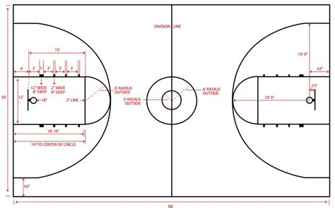 Long Narrow House Floor Plans Charming Bball Court Dimensions 2 Basketball Court