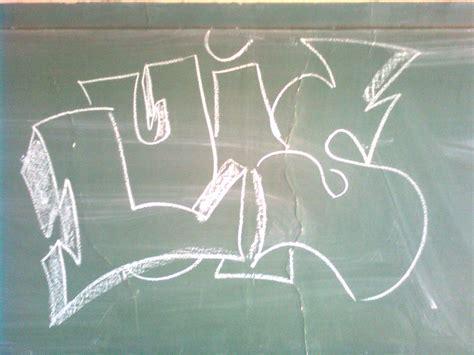 imagenes de letras goticas que digan luis graffitis hechos por un amigo mio tres fotos extras