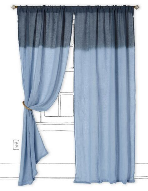 periwinkle curtains ombr 233 waves curtain periwinkle contemporary curtains