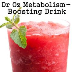Metabolism Boosting Detox Drinks by Dr Oz Low Enzyme Test Dr Oz S New Green Drink Recipe