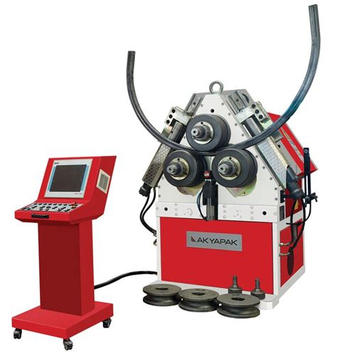 Mesin Roll Pipa Otomatis mesin roll siku merk akyapak jual mesin
