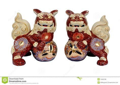 shi shi dogs okinawan shi shi dogs royalty free stock image image 15905786