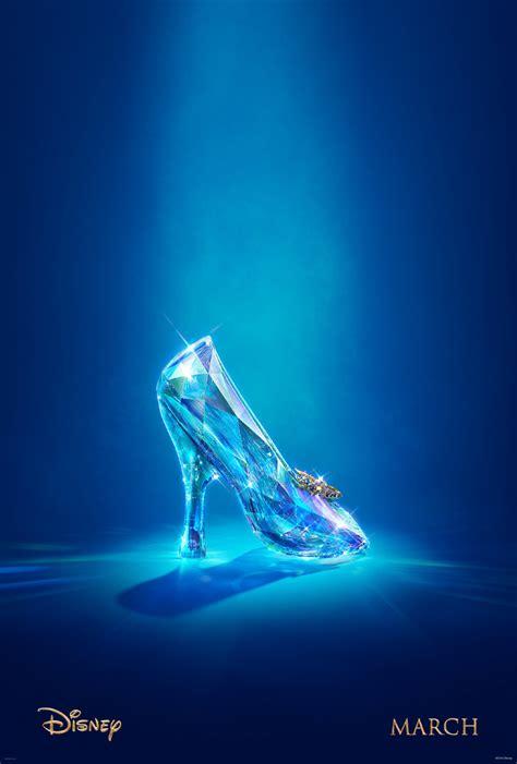 glass slipper from cinderella cinderella 2015 trailer released disney reveals