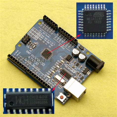 Dfrobot Atmega328 Chip With Arduino Uno Bootloader Dfr0113 ebay clone arduino uno genuine atmel chip how to tell page 1