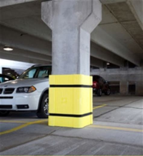 Parking Garage Protection by Parking Padding Solutions Park With Confidence