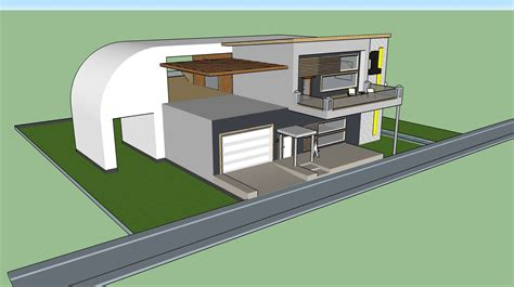 how to design a house in sketchup one of my first houses gallery sketchup community