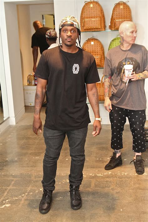 pusha t hairstyle pusha t opens creme clothing store hiphopdx